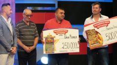 Късметлия от Търговище спечели 250 000 лева от Националната лотария