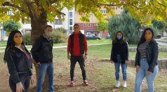 Ученици от Търговище шият маски с български шевици