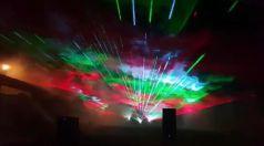 Уникално лазерно шоу в Търговище